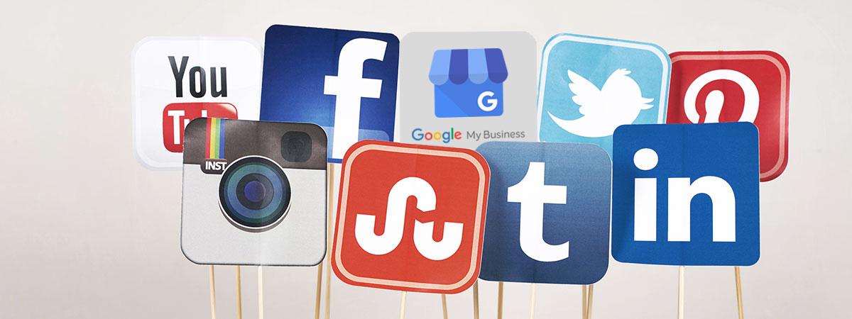 Aggiorna i social e il tuo profilo Google My Business