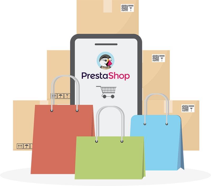 E-commerce realizzato con Prestashop